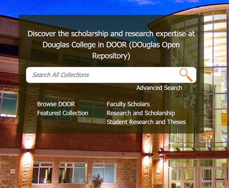 clickable image of DOOR search box