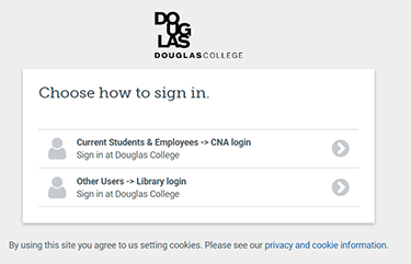 How to sign in