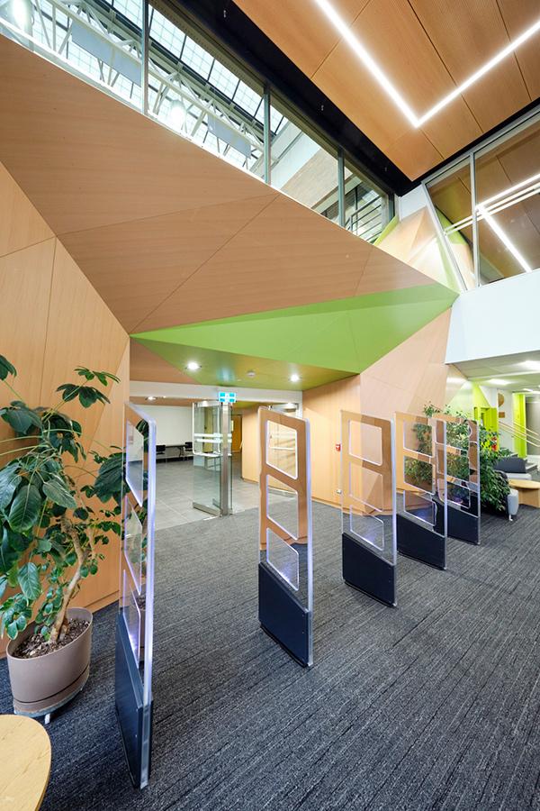 Library foyer